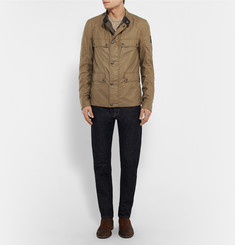 Belstaff - Leighwood Slim-Fit Waxed-Cotton Field Jacket