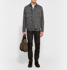Belstaff Sampson Cotton-Twill Overshirt