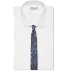 Dries Van Noten Paisley-Patterned Silk-Jacquard Tie
