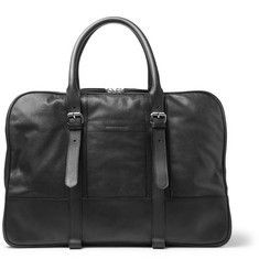 Dries Van Noten Textured-Leather Holdall