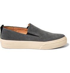 Dries Van Noten Suede Slip-On Sneakers