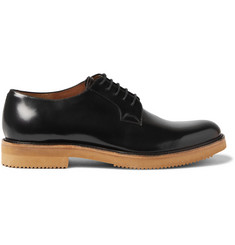 Dries Van Noten Patent-Leather Derby Shoes