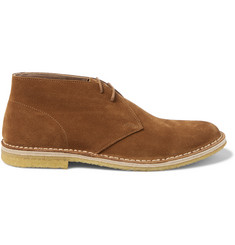 Dries Van Noten Suede Desert Boots
