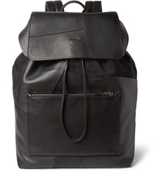 Coach Patchwork Suede and Leather Backpack