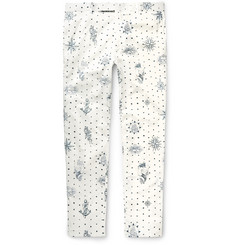 Alexander McQueen - Slim-Fit Printed Cotton Trousers