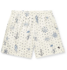 Alexander McQueen Mid-Length Printed Swim Shorts