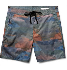 Outerknown - Pocket Evolution Mid-Length Printed ECONYL® Swim Shorts