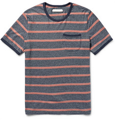 Outerknown Intervals Striped Hemp and Organic Cotton-Blend Jersey T-Shirt