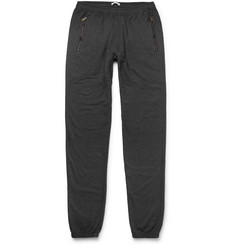Tomas Maier - Tapered Loopback Cotton-Blend Jersey Sweatpants