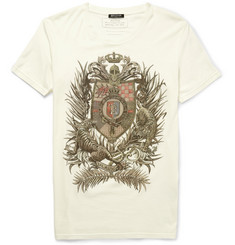 Balmain Slim-Fit Printed Cotton-Jersey T-Shirt