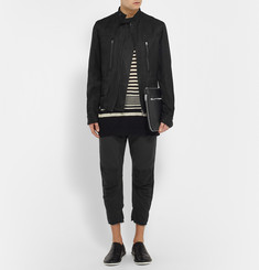 Haider Ackermann Slim-Fit Linen and Silk-Blend Jacket