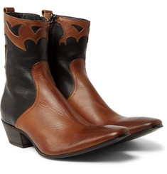 Haider Ackermann - Leather Cowboy Boots