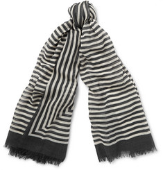 Haider Ackermann - Striped Wool Scarf