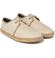 Burberry - Linen-Canvas Espadrilles