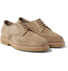 Burberry Shoes & Accessories - Suede Wingtip Brogues