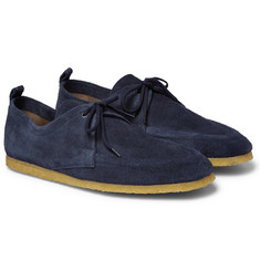 Burberry - Tobias Suede Derby Shoes