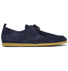 Burberry Shoes & Accessories Tobias Suede Derby Shoes
