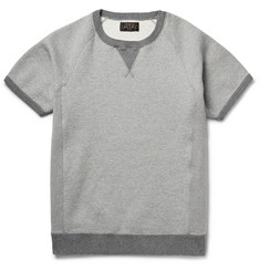Beams Plus Fleece-Back Cotton-Jersey Sweatshirt