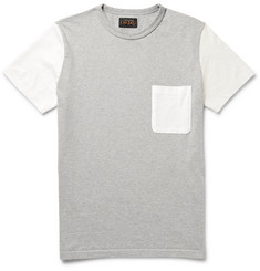 Beams Plus Colour-Block Cotton-Jersey T-Shirt