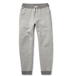 Beams Plus Slim-Fit Tapered Fleece-Back Cotton-Jersey Sweatpants