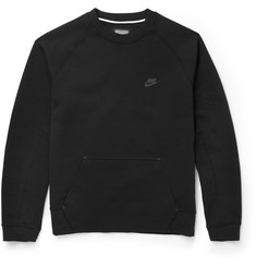 Nike Cotton-Blend Tech Fleece Sweatshirt