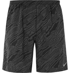 Nike Running - Printed Distance Elevate Dri-FIT Shorts