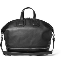 Givenchy Nightingale Full-Grain Leather Holdall