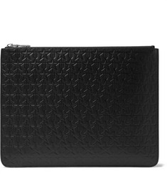 Givenchy Embossed Leather Pouch