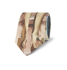 Givenchy Printed Silk Tie