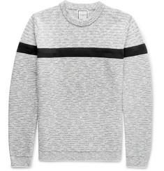 Wooyoungmi Mélange Cotton-Blend Sweater