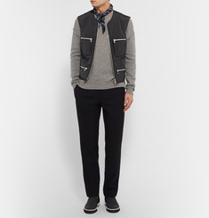 Wooyoungmi Padded Textured-Shell Gilet