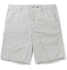 rag & bone Striped Cotton Shorts