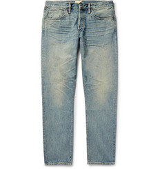 Simon Miller M001 Slim-Fit Washed-Denim Jeans