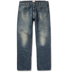 Simon Miller M004 Wide-Leg Washed-Denim Jeans