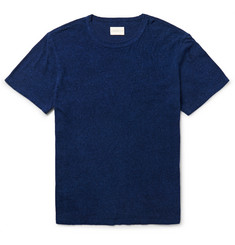 Simon Miller Nep Cotton and Silk-Blend Jersey T-Shirt