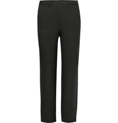 Issey Miyake - Textured-Linen Trousers