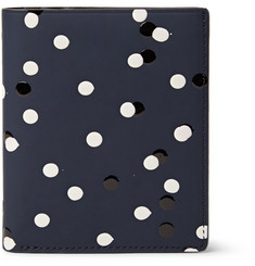 WANT Les Essentiels - Bradley Embellished Coated Leather Billfold Wallet