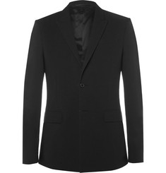 Givenchy - Slim-Fit Cotton-Blend Seersucker Blazer