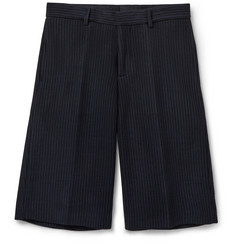 Givenchy Striped Tech-Jersey Bermuda Shorts
