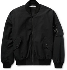 Givenchy Padded Stretch-Cotton Cloqué Bomber Jacket