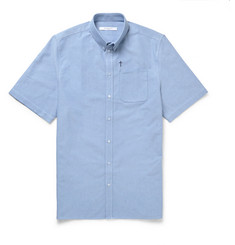 Givenchy Columbian-Fit Button-Down Collar Cotton-Poplin Shirt