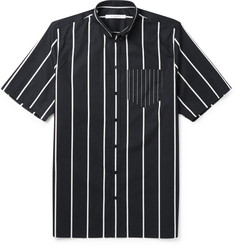 Givenchy Columbian-Fit Button-Down Collar Striped Cotton Shirt