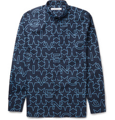 Givenchy Cuban-Fit Printed Cotton Shirt