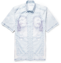 Givenchy Columbian-Fit Printed Cotton Shirt