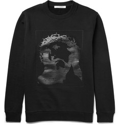 Givenchy - Cuban-Fit Printed Fleece-Back Cotton-Jersey Sweatshirt
