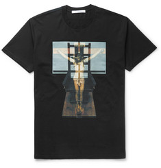 Givenchy Columbian-Fit Printed Cotton T-Shirt