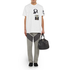 Givenchy Columbian-Fit Patch-Embellished Cotton T-Shirt