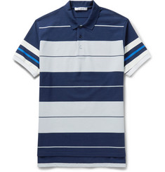 Givenchy - Columbian-Fit Striped Cotton-Piqué Polo Shirt