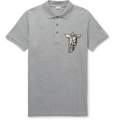 Loewe - Patch-Embellished Cotton-Piqué Polo Shirt