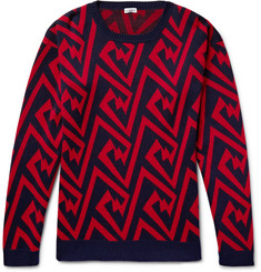 Loewe - Jacquard-Knit Cotton Sweater
